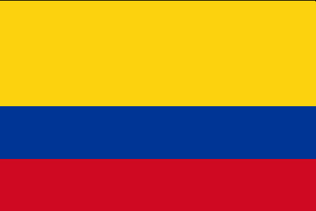 kolumbija zastava